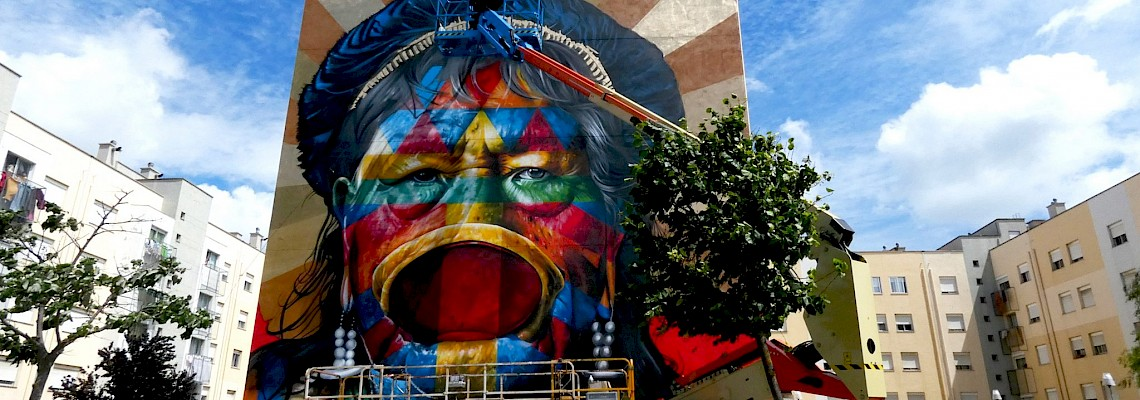 Street Art Tour no Festival Muro